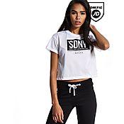 Supply & Demand Mesh Crop T-Shirt