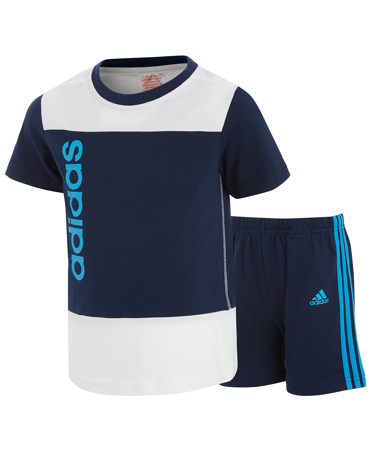 Adidas Linear T-Shirt/Shorts Set Infants product image