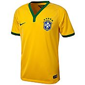 Nike Brazil 2014 Home Shirt Junior