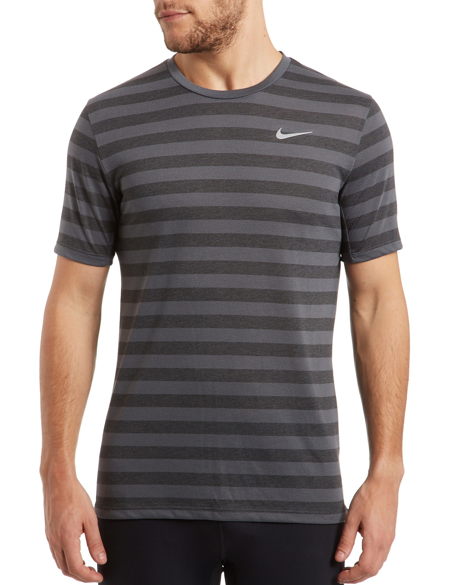 Nike Dri-fit Tail Wind Stripe T-Shirt product image