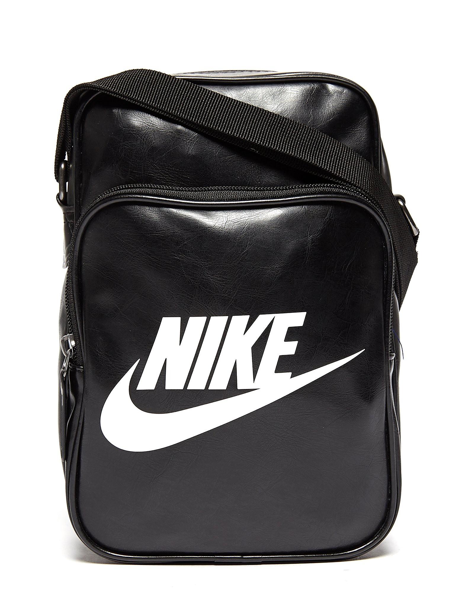 Nike Heritage Small Items Bag - Black/Sail - Mens, Black/Sail