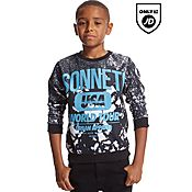 Sonneti Patchwork Crew Sweatshirt Junior