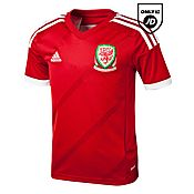 adidas Wales 2014 Junior Home Shirt