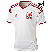 adidas Wales 2014 Junior Away Shirt