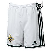 adidas Northern Ireland 2014 Junior Home Shorts