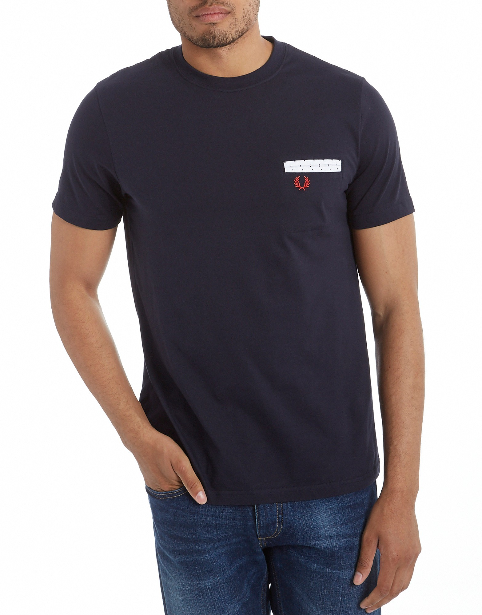 Fred Perry Polka Jet Pocket T-Shirt product image