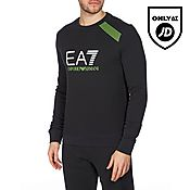 EA7 7 Stripe Large Logo Sweatshirt