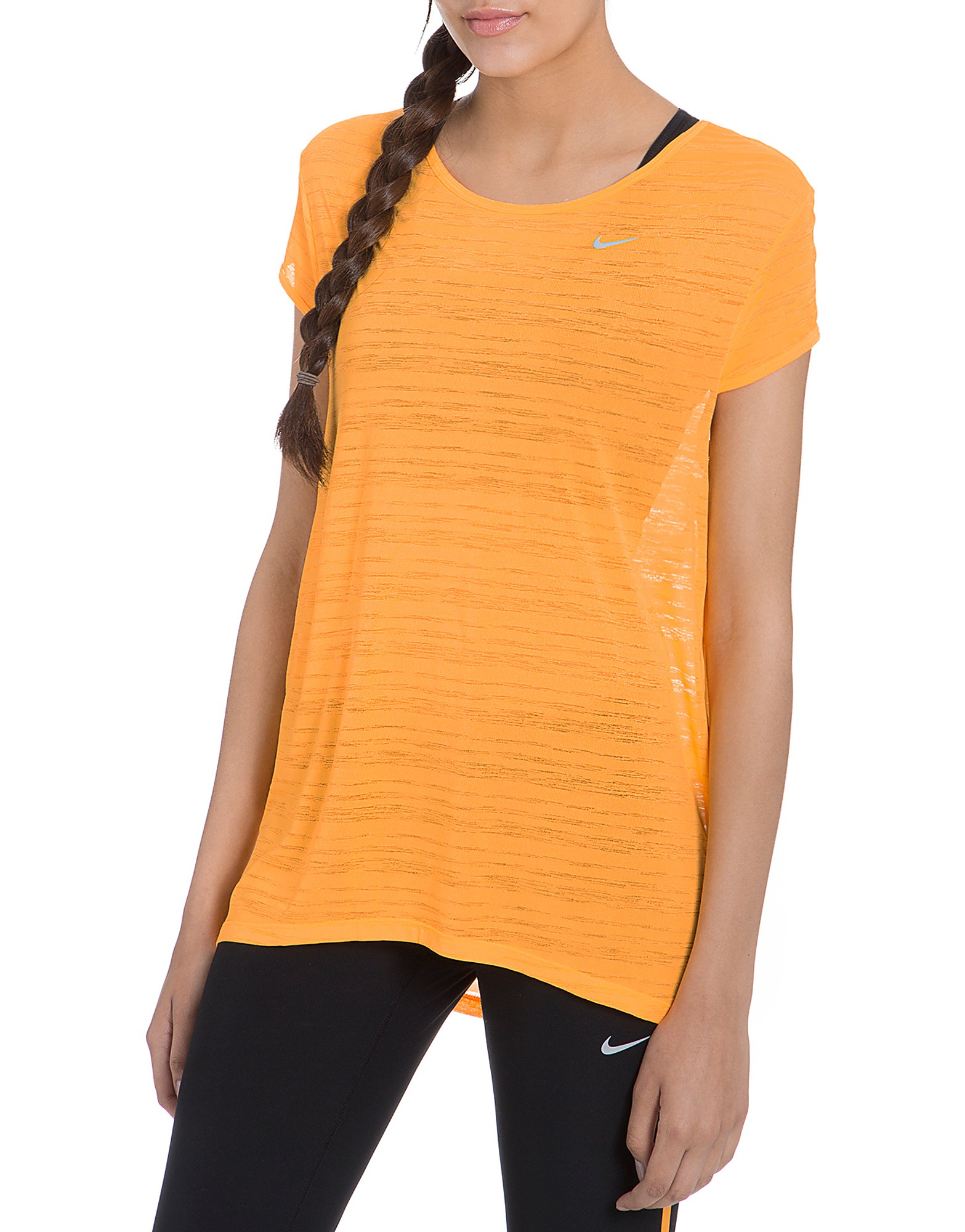Nike Dri FIT Breeze Stripe T-Shirt product image
