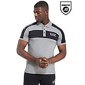 Emporio Armani EA7 Panel Block Polo Shirt
