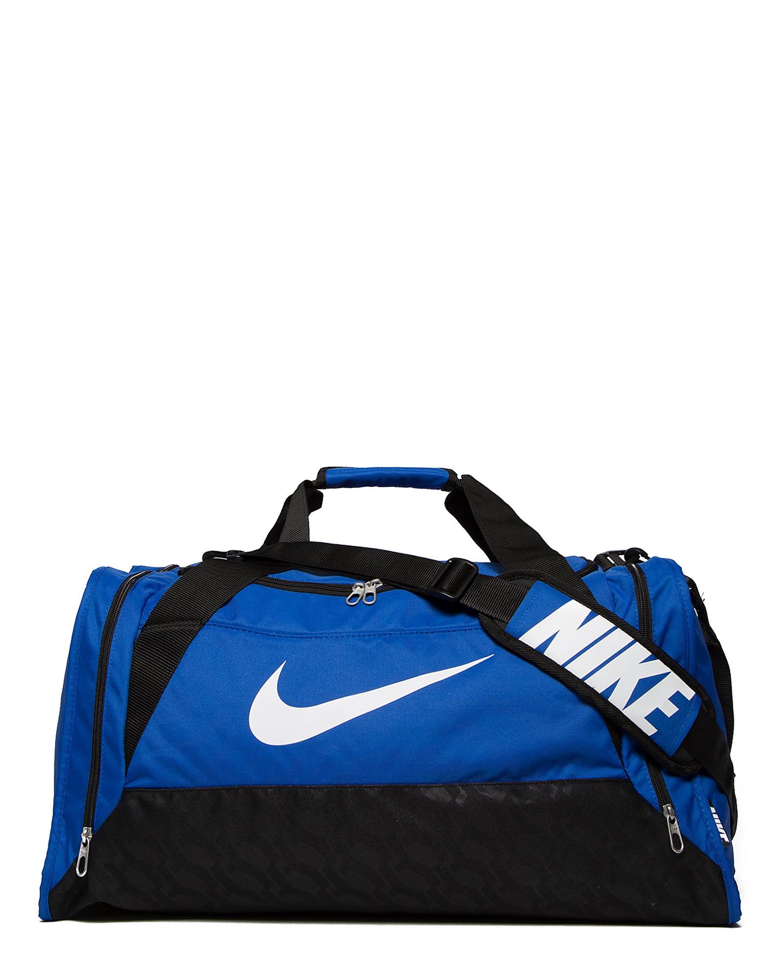 Nike Brasilia 6 Duffel Bag - Royal/White - Mens, Royal/White