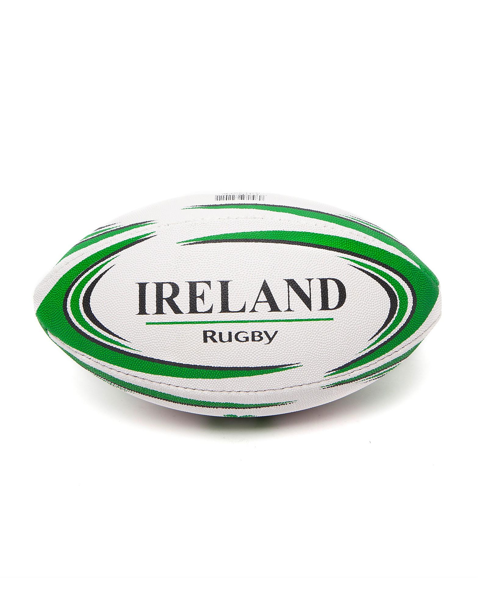Daricia Mini Ireland Rugby Ball - White/Green - Mens, White/Green