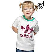 adidas Originals Girls Trefoil Infil T-shirt Infant