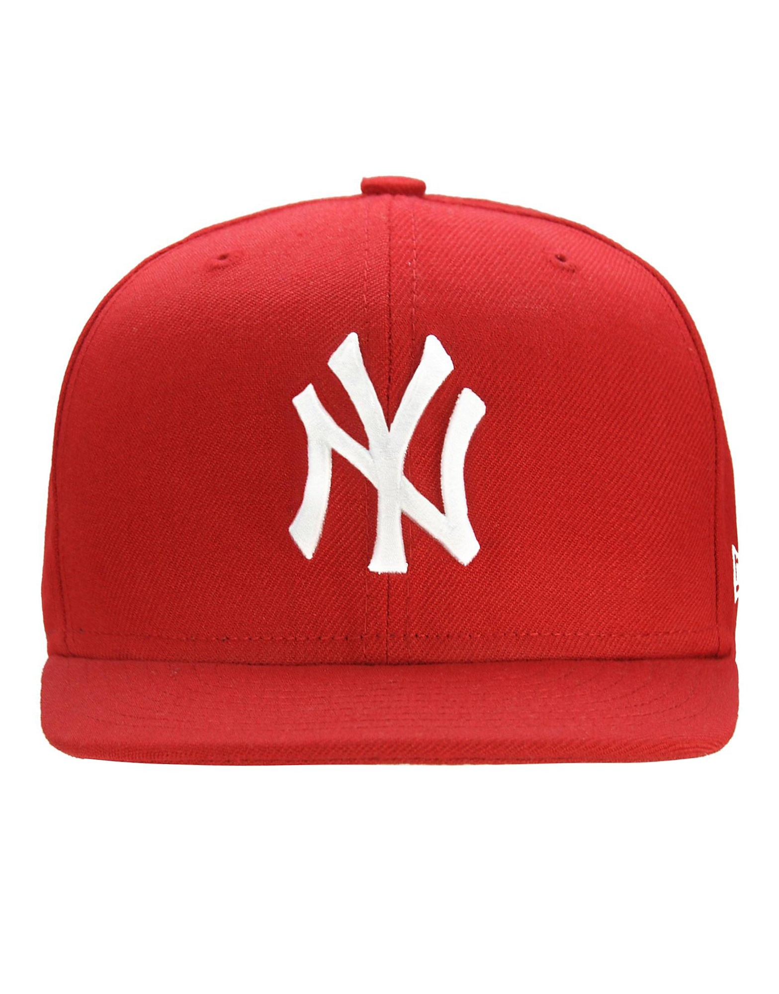 New Era MLB New York Yankees 59FIFTY Fitted Cap - Red/White - Mens, Red/White