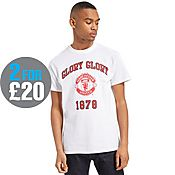 Official Team Manchester United F.C Glory T-Shirt