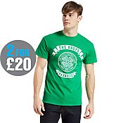 Official Team Celtic F.C Scroll T-Shirt