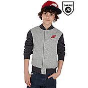 Nike Air Fleece Varsity Jacket Junior