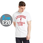 Official Team Liverpool F.C Bird T-Shirt