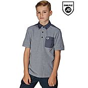 Fred Perry Pique Tip Polo Shirt Junior