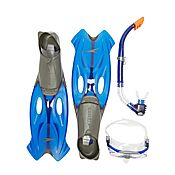 Speedo Glide Mask Snorkel and Fin Set