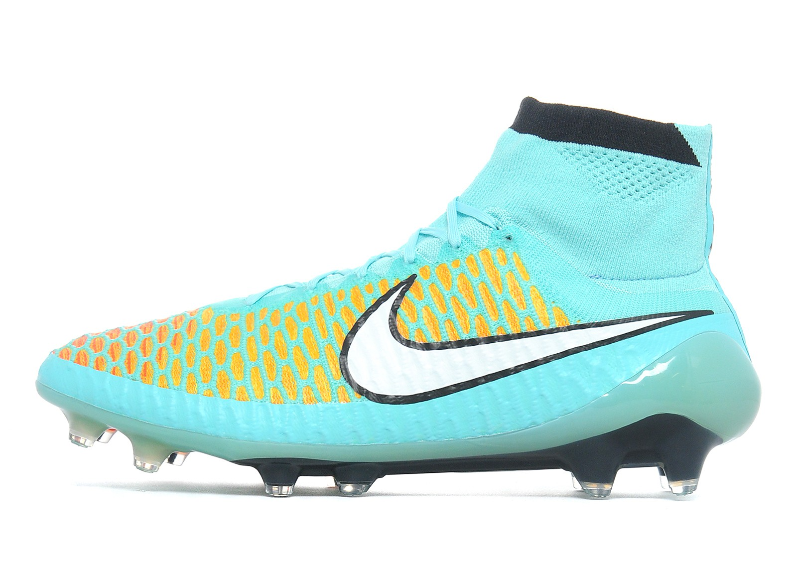 Mens Magista Obra FG Hyper Turquoise/Orange