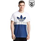 adidas Originals Trefoil Block Panel T-Shirt