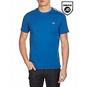 Fred Perry Shoulder Gingham T-Shirt