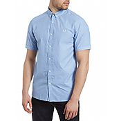 Fred Perry End On End Short Sleeve Shirt