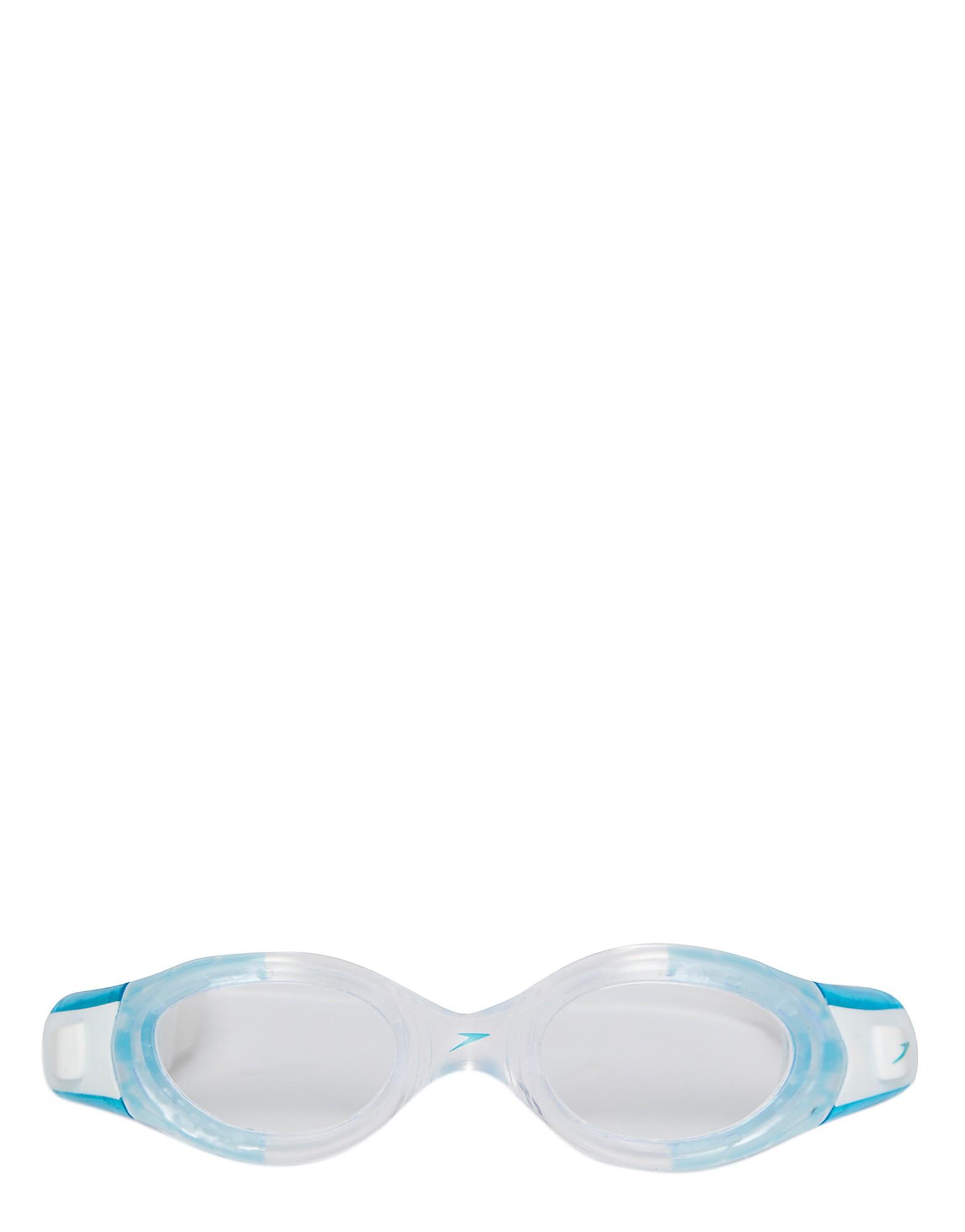 Speedo Futura Biofuse Goggles - Blue/Clear - Womens, Blue/Clear
