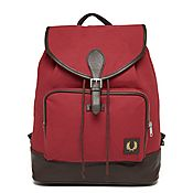 Fred Perry Canvas Backpack