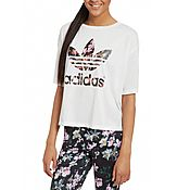adidas Originals Orchid Crop T-Shirt