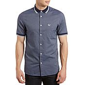 Fred Perry Woven Collar Mix Shirt