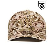 New Era 39THIRTY MLB New York Yankees Metal Logo Camo Cap