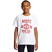 Official Team Manchester United 1878 T-Shirt Junior