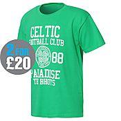 Official Team Celtic Bhoys T-Shirt Junior