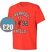 Official Team Liverpool 1892 T-Shirt Junior