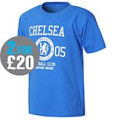 Official Team Chelsea 1905 T-Shirt Junior