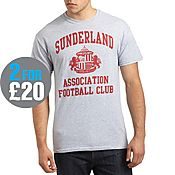 Official Team Sunderland Crest T-Shirt