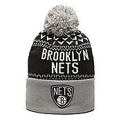 Mitchell & Ness NBA Brooklyn Nets Nujacq Bobble Hat