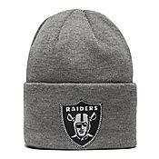 New Era NFL Oakland Raiders Wide Grey Hat