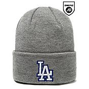 New Era MLB Los Angeles Dodgers Wide Grey Hat