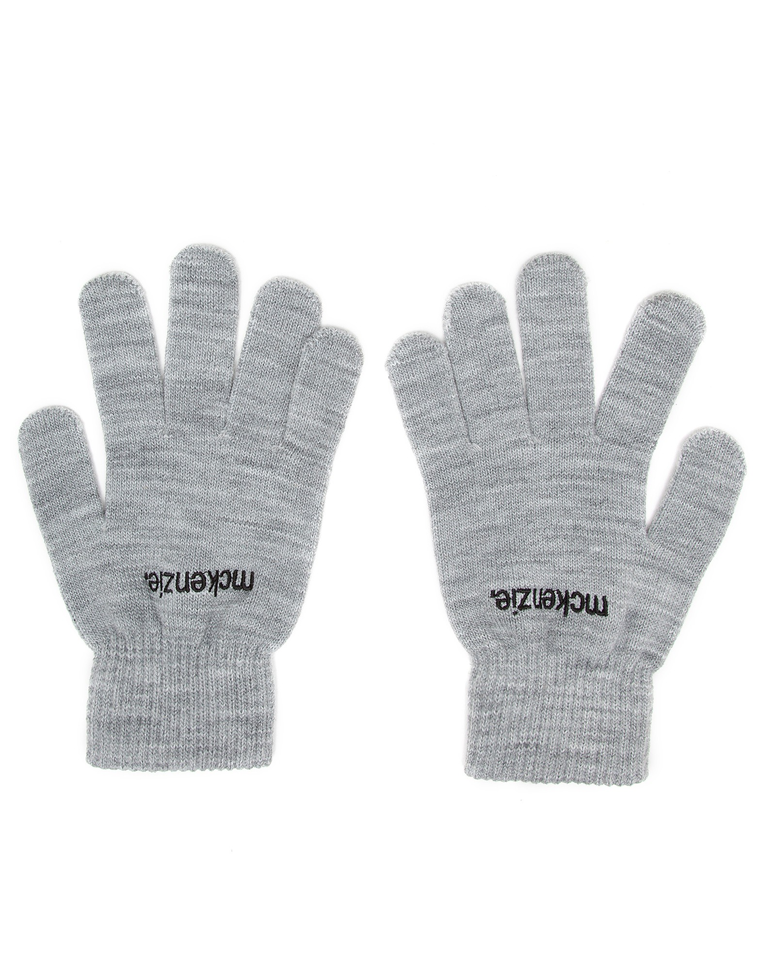 Leather gloves mens jd - Image Of Mens Mckenzie Alonzo Gloves Only At Jd Grey Marl Grey Marl