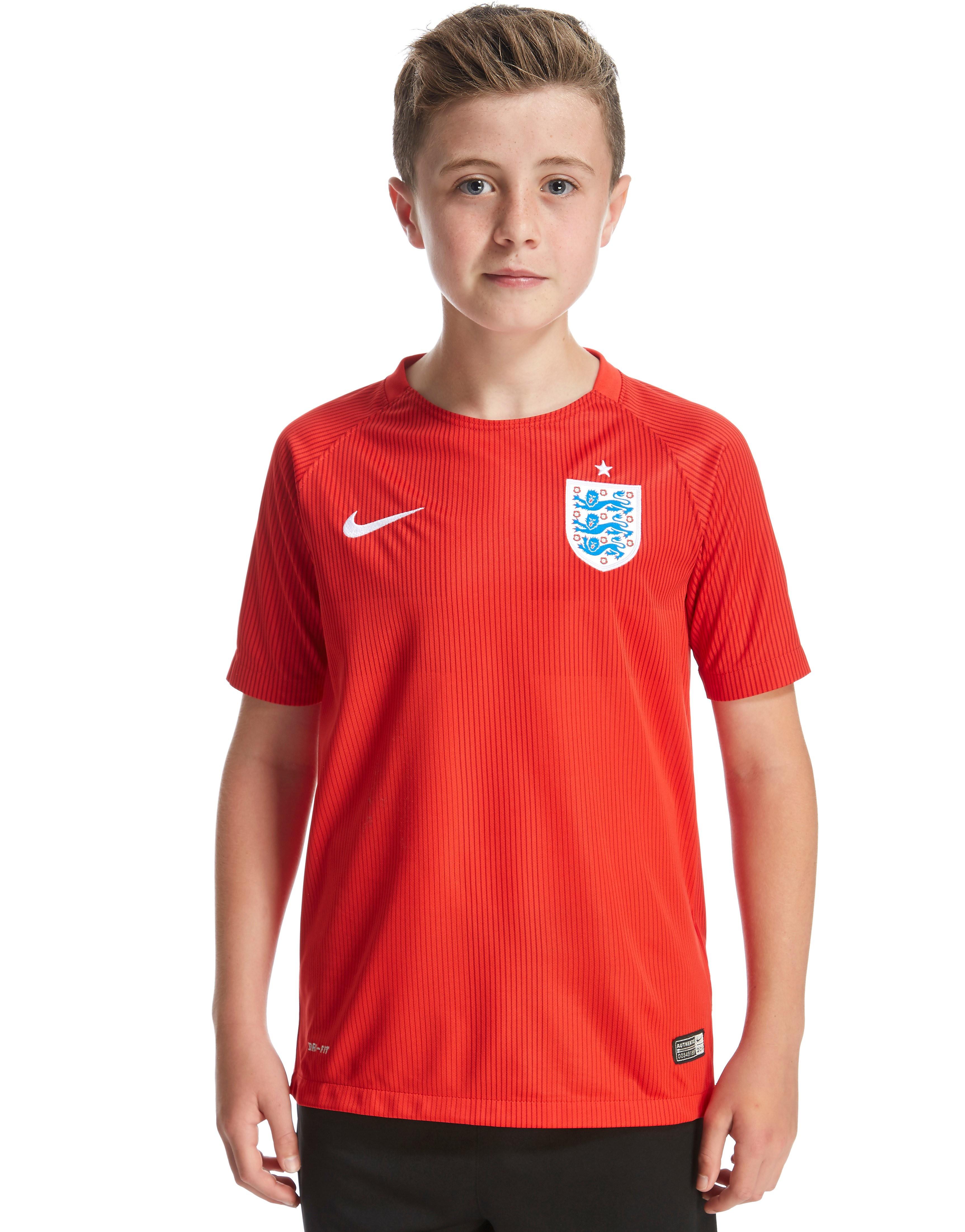 Nike England 2014 Junior Stadium Away Shirt - Red/White - Kids, Red/White