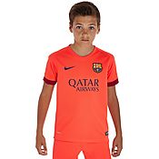 Nike Barcelona 2014 Junior Away Shirt