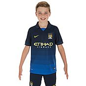 Nike Manchester City 2014 Junior Away Shirt