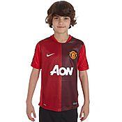 Nike Manchester United Junior Pre Match Top