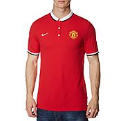 Nike Manchester United Authentic Polo Shirt
