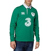 Canterbury IRFU 2014 Home Long Sleeved Shirt
