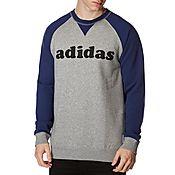 adidas Originals Nigo Raglan Crew Sweatshirt