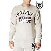 Duffer of St George Twin Flag Crew Sweatshirt