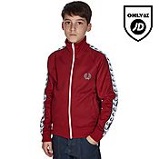 Fred Perry Taped Track Top Junior